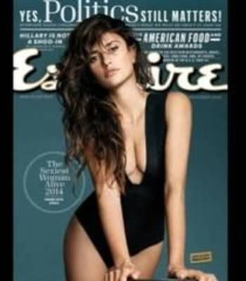"News video: Penelope Cruz named Esquire's ""Sexiest"""